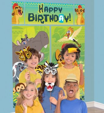 Lion Guard Photo Booth Kit with Props