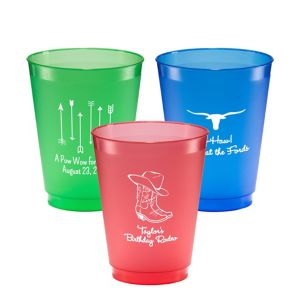 Personalized Summer Plastic Shatterproof Cups 16oz