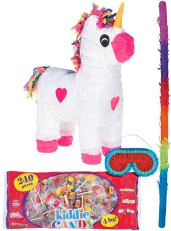 White Unicorn Pinata Kit