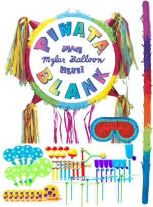Add-a-Balloon Multicolor Pinata Kit with Favors