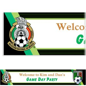 Custom Mexico National Team Banner