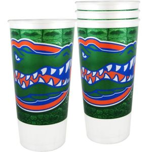 Florida Gators Plastic Cups 4ct