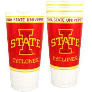 Iowa State Cyclones Plastic Cups 4ct