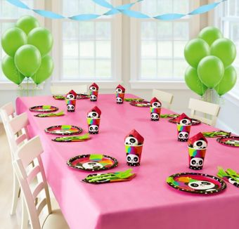 Panda Basic Party Kit for 8 Guests