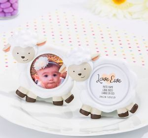 Baby Lamb Photo Frame Place Card Holders 6ct