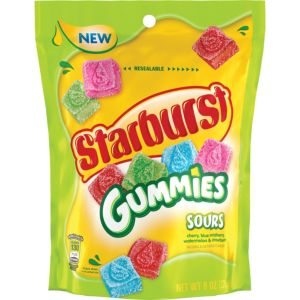 Sour Starburst Gummy Candy 40pc