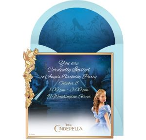 Online Cinderella Movie Invitations