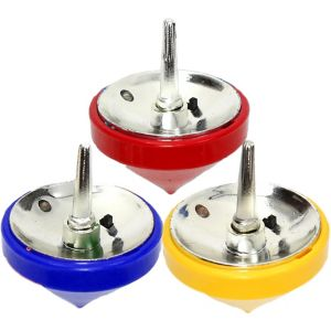 Light-Up Spin Tops 3ct