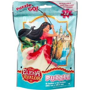 Elena of Avalor Puzzle Bag 24pc