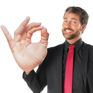 Adult Oversized OK Hand Sign