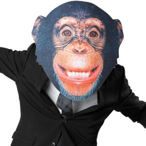 Adult Oversized Chimp Mask