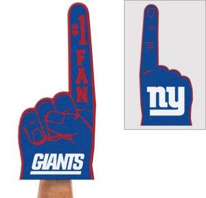 New York Giants Foam Finger