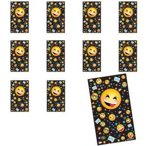 Jumbo Smiley Stickers 24ct