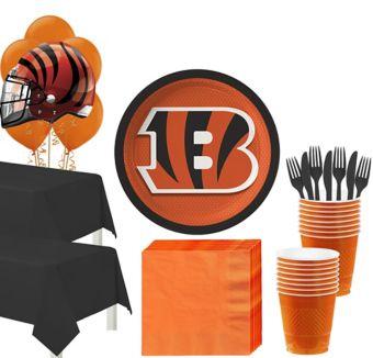 Cincinnati Bengals Deluxe Party kit for 36 Guests