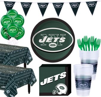 New York Jets Deluxe Party kit for 36 Guests