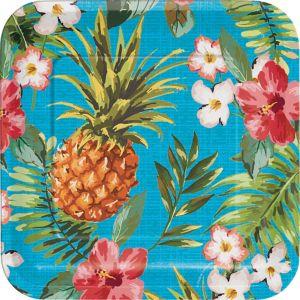 Aloha Hawaiian Lunch Plates 8ct