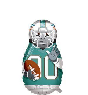 Giant Football Player Miami Dolphins Balloon
