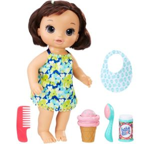 Brunette Magical Scoops Doll 6pc