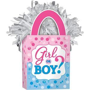 Girl or Boy Gender Reveal Balloon Weight