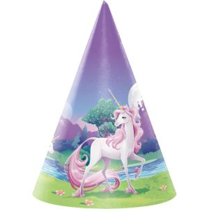 Unicorn Party Hats 8ct