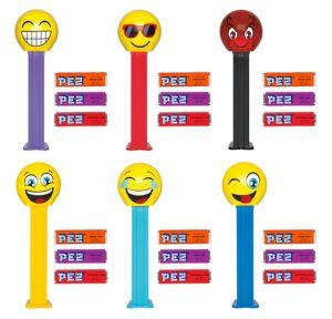 Smiley PEZ Dispensers 12ct