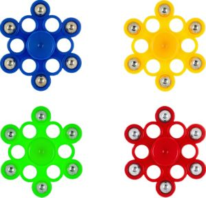 6-Point Snowflake Fidget Spinner