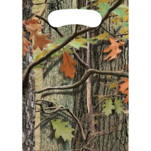 Hunting Camo Favor Bags 8ct