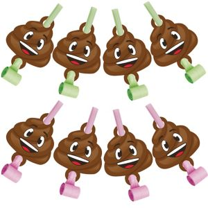 Poop Icon Blowouts 8ct