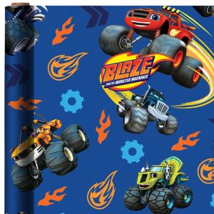 Blaze and the Monster Machines Gift Wrap