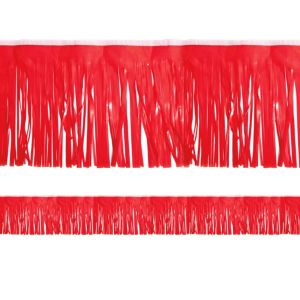 Red Fringe Decoration