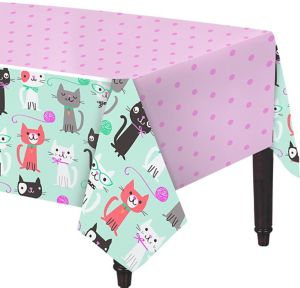 Purrfect Cat Table Cover