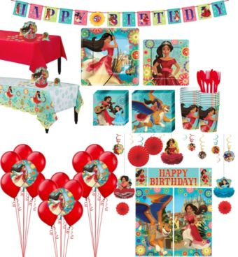 Elena of Avalor Tableware Ultimate Kit for 16 Guests