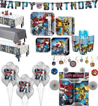 Transformers Tableware Ultimate Kit for 24 Guests