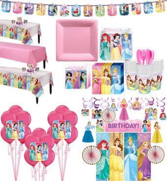Disney Princess Tableware Ultimate Kit for 24 Guests
