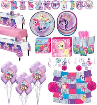 My Little Pony Tableware Ultimate Kit for 24 Guests