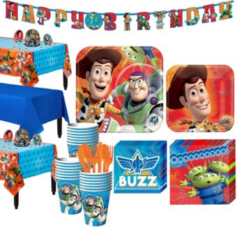 Toy Story Tableware Party Kit for 24 Guests