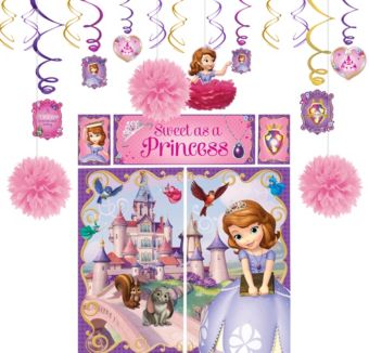 Sofia the First Decoration Kit