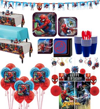 Ultimate Spider-Man Tableware Ultimate Kit for 24 Guests