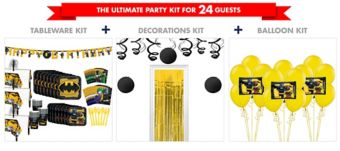 Lego Batman Movie Tableware Ultimate Kit for 24 Guests