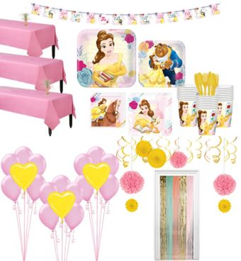 Beauty and the Beast Tableware Ultimate Kit for 24 Guests