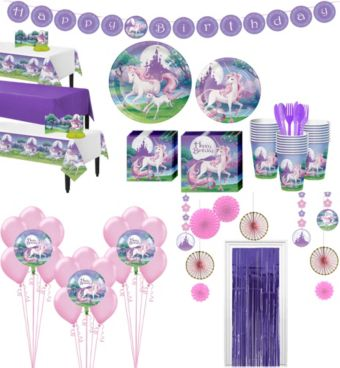 Unicorn Tableware Ultimate Kit for 24 Guests