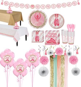 Ballerina Tableware Ultimate Kit for 16 Guests