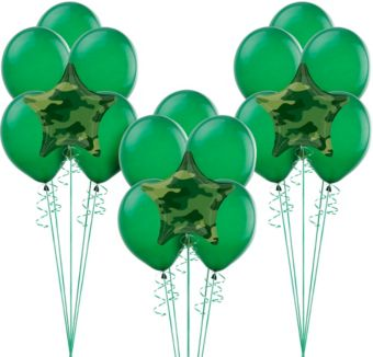 Camouflage Balloon Kit