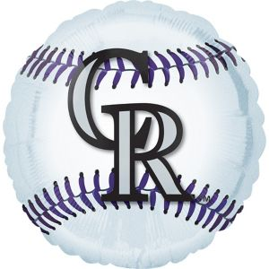 Colorado Rockies Balloon - Baseball