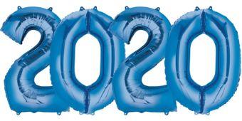 Giant Blue 2019 Number Balloon Kit