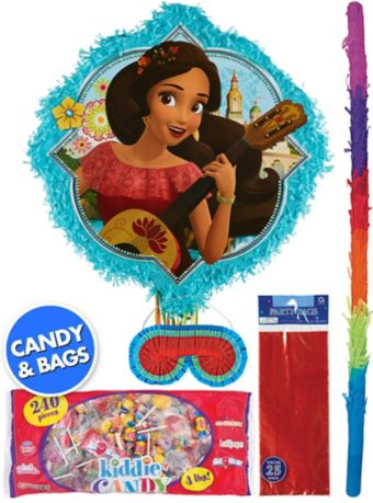 Elena of Avalor Pinata Kit with Favor Bags