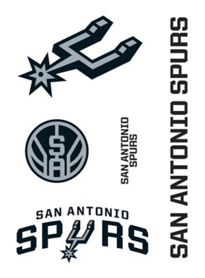 San Antonio Spurs Decals 5ct