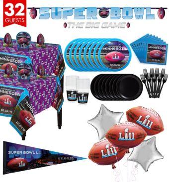 Super Bowl Super Party Kit for 32 Guests