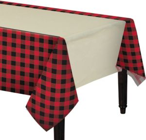 Buffalo Plaid Table Cover
