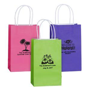 Personalized Medium Summer Kraft Bags